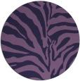 rug #268777   round blue-violet rug