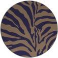 rug #268789 | round beige rug
