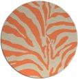 rug #268877 | round beige rug