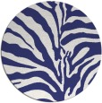 rug #268961 | round white stripes rug