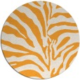 rug #269029 | round white stripes rug