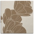 rug #269537   square mid-brown graphic rug