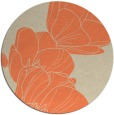 rug #270637 | round beige natural rug