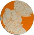 rug #270757 | round beige natural rug