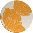 rug #270789 | round light-orange natural rug