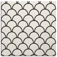 rug #271149 | square white retro rug
