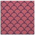 rug #271237 | square blue-violet retro rug