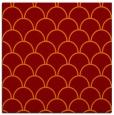 rug #271333 | square red-orange traditional rug