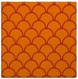 rug #271389 | square orange traditional rug