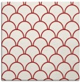 rug #271393 | square red retro rug