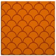 rug #271401 | square red-orange retro rug