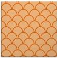 rug #271405 | square red-orange retro rug