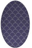 rug #271585 | oval blue-violet traditional rug
