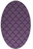 rug #271593 | oval blue-violet traditional rug