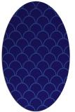 rug #271601   oval blue-violet traditional rug