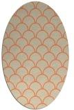 rug #271693   oval beige traditional rug