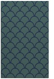 rug #271881 |  blue-green retro rug
