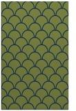 rug #271885    green traditional rug