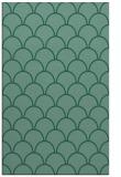 rug #271905 |  blue-green retro rug
