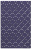 rug #271937    blue-violet traditional rug