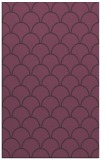 rug #272073 |  purple retro rug