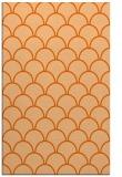 rug #272109 |  red-orange retro rug