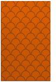 rug #272113 |  red-orange retro rug