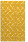 rug #272137 |  yellow retro rug