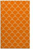 rug #272165 |  orange retro rug