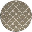rug #272201 | round beige retro rug
