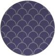 rug #272289 | round blue-violet retro rug