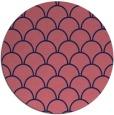 rug #272293 | round pink retro rug