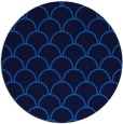 rug #272369 | round blue traditional rug