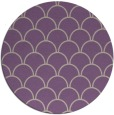 rug #272381 | round purple traditional rug