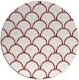 rug #272413 | round pink rug