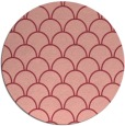 rug #272417 | round pink traditional rug
