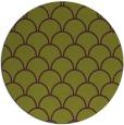 rug #272429 | round purple traditional rug