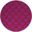 rug #272453 | round red traditional rug