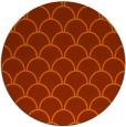 rug #272458 | round retro rug
