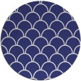 rug #272481 | round blue traditional rug