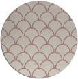rug #272541   round pink rug