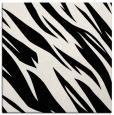 rug #272909 | square black abstract rug