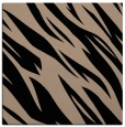 rug #272917 | square black abstract rug