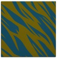 rug #272965 | square blue-green abstract rug