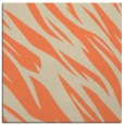 rug #273101   square orange abstract rug