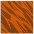 rug #273169 | square red-orange rug