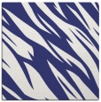 rug #273185 | square blue abstract rug