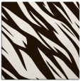 rug #273201 | square brown abstract rug
