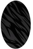 rug #273531 | oval abstract rug