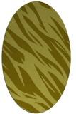 rug #273577 | oval light-green rug